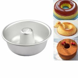 Chiffon Cake Mold DIY Donut Pan Mould Baking Tin Ring Anodiz
