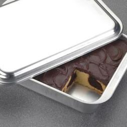 classic metal covered baking pan