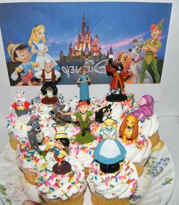 Disney Classic Movies Cake Toppers Set Peter Pan Pinocchio A