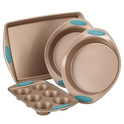 Rachael Ray® Cucina Nonstick Bakeware 4-pc. Latte Brown