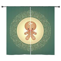 curtain curtains chistmas cuties gingerbread