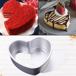 Cute Heart-Shaped Cake Mold Tin Non Stick Spring Form Loose