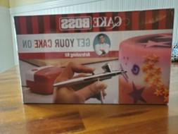 Cake Boss Decorating Tools Airbrushing Kit, Red New in box