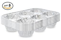 Ram-Pro Disposable Recyclable Aluminum Foil cup muffin pan D
