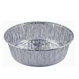 Disposable Round Baking Aluminum Pans - 8-inch Round Extra D