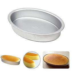 Easter Day Gift, Aluminum Oval shape Cake Mould Maker Nonsti