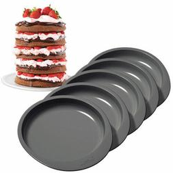 Easy Layers! 6 in Cake Pan Set 5 pc from Wilton 0112 NEW