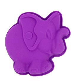 Yunko Elephant Shape Bakeware Silicone Baking Mold Party Dec
