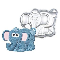 WJSYSHOP 10 Inch Elephant Shaped Aluminum 3D Cake Mold Bakin