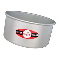 Fat Daddio's Anodized Aluminum Round Cake Pan, 8-Inch x 4-In
