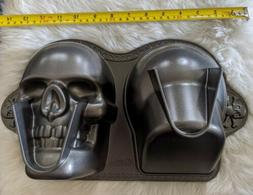 Halloween Wilton Non-Stick 3D Skull Baking Cake Pan new no b