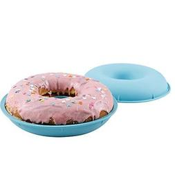 Webake Jumbo Silicone Donut Mold Non-Stick Cake Pan Set of 2