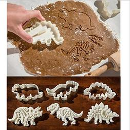 Zomup Kids Gift Dinosaur Shape Cookie Cutter Mold Chocolate