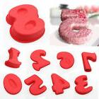 0~9 DIY Numbers Cake Silicone Mold Birthday Mould Baking Pan