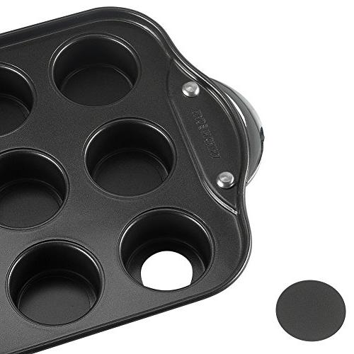 Tosnail Cavity Mini Cheesecake Pan with & Bottoms