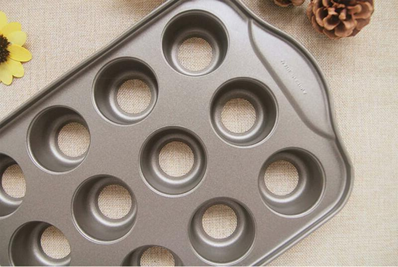 Tosnail 12 Cavity Cheesecake Pan Pieces Removable