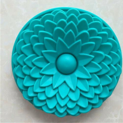 1PC Color Silicone Sun Baking Cake Pan Mold Mould Bakeware New