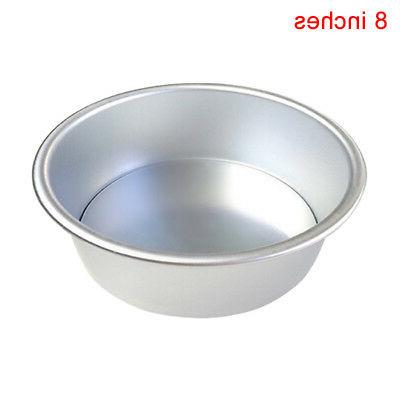 2/4/6/8/10Inch Mold Round DIY Pastry Mould Baking Tin Pan Tool