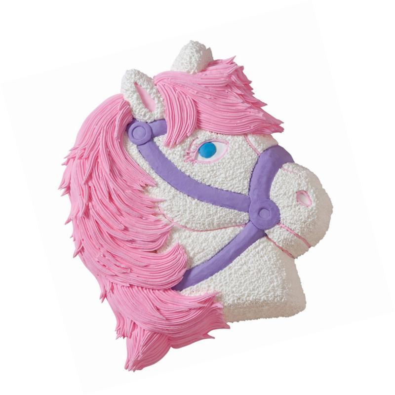 Wilton 3-D Baking Makes Perfect Horse or Unicorn Party for