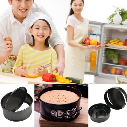 4/6/8/10Inch Round Cake Tin Set Non Stick Form Pan