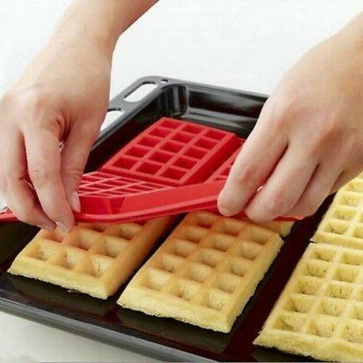 4 Cavity Waffles Cake Chocolate Pan Baking Mould Kitchen Too