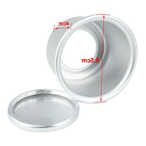 5 Dessert Pan Cup Mold Removable DIY Tools New
