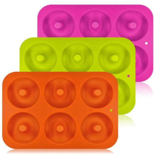 Silicone Cupcake Pan Chocolate Candy Cookie Baking Tool US