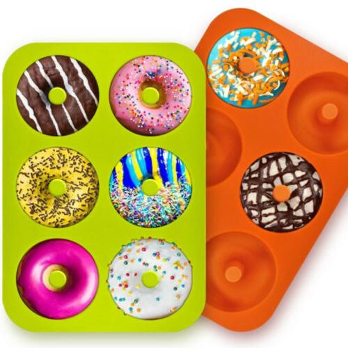 silicone cupcake mold mould pan donut chocolate