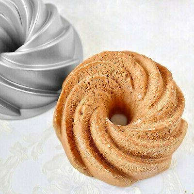Tosnail Non-Stick Fluted Cake Bundt Cake Pan Specialty and New