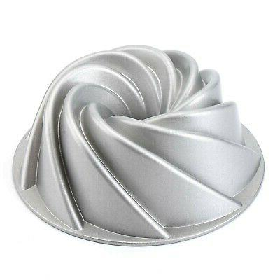9 inch non stick fluted cake pan