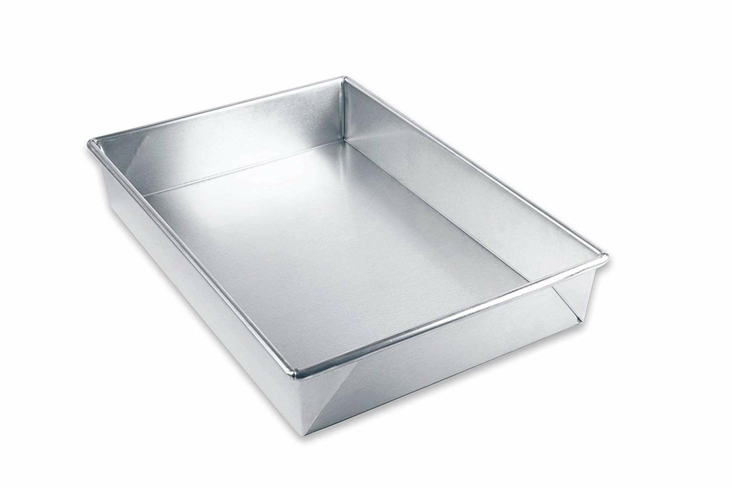Aluminum Bakeware Rectangular Baking Pan 9x13 Cakes Food Kit