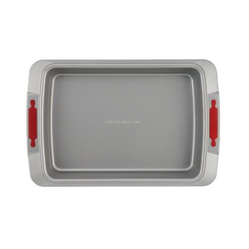 Cake Bakeware by Cake Pan, Gray Red Silicone