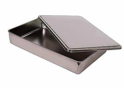 Covered Cake Pan Deep Bakeware 13x11 High Quality Stainless