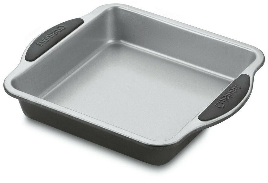 "Cuisinart Easy Grip 9"" Non-Stick Square Cake Pan  -  NEW"