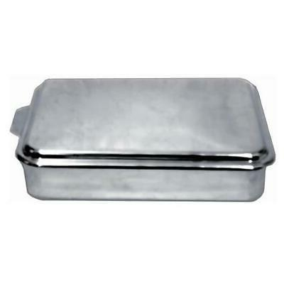 Lindy's Stainless Steel 9 X 13 Inches Covered Cake Pan, Silv