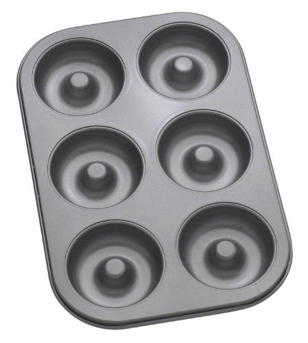 Mrs. Anderson's Baking 43710 6-Cup Donut Pan, Carbon Steel