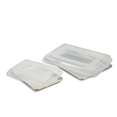Nordic Ware 4 Piece Bakers Half and Quarter Sheet Combo Pack