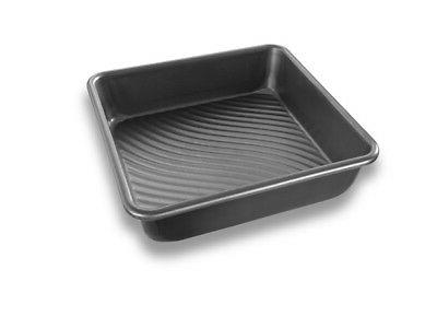 USA Pan Patriot Pan Bakeware Aluminized Steel 8-Inch Square