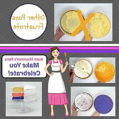 "Aunt 8"" Cake Pans Set Release for"