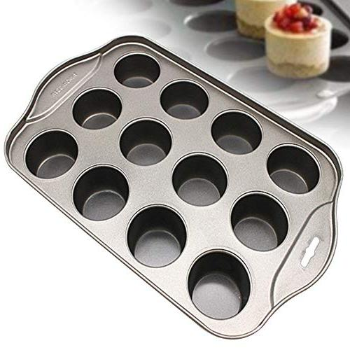Bakeware Non-stick Removable Tool Mold Pan Cheesecake Muffin Carbon Steel