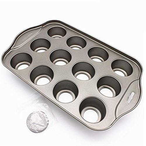 Bakeware Non-stick 12 Mold Muffin Cheesecake Easy Clean
