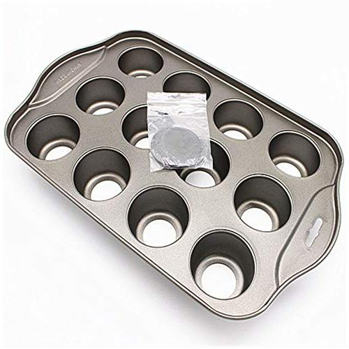 Bakeware Mini Removable Round 12 Tool Easy Mold Pan Carbon Steel