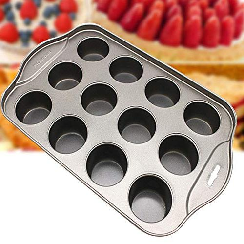 Bakeware Round Non-stick Cup Mold Pan Cheesecake Easy Clean