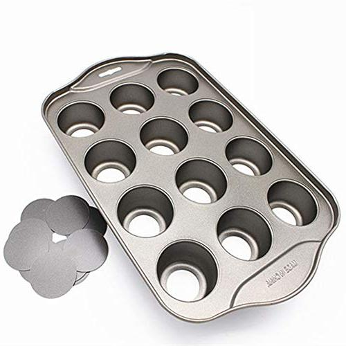 bakeware easy clean muffin mini