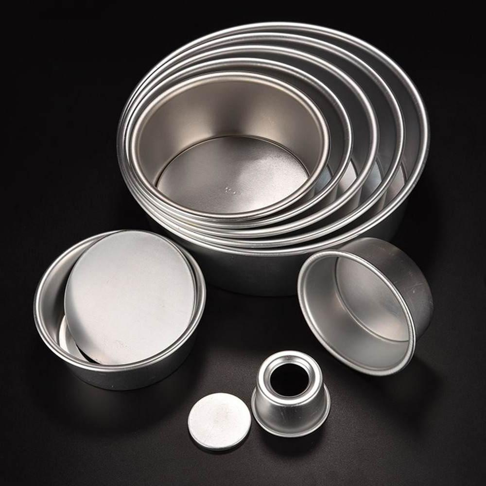 Brand <font><b>Home</b></font> <font><b>Kitchen</b></font> <font><b>Cake</b></font> Baking Mould Bakeware Aluminum Non-stick 2/4/6/8 Round <font><b>Cake</b></font>