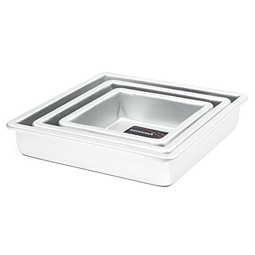 Winco 8 x 2 Layer Cake Pan