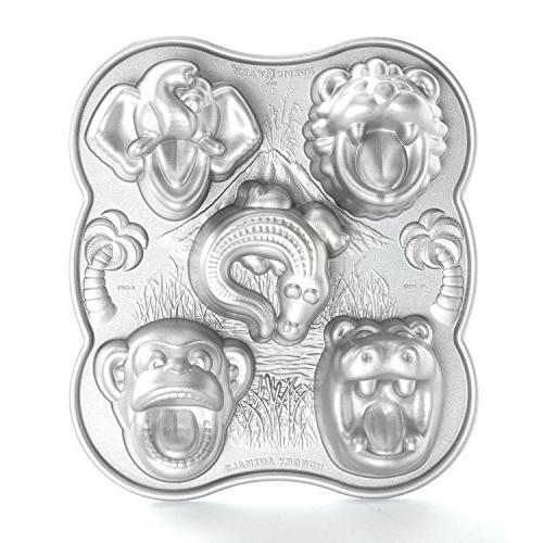 Nordic Ware® Cast Hungry Animals Cake Ice