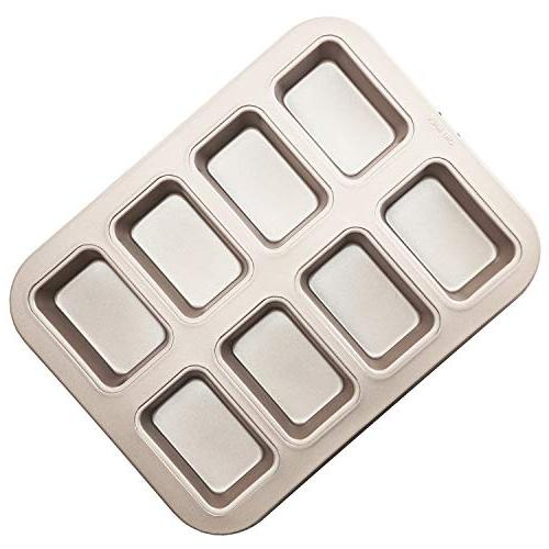 chefmade 8 cavity brownie pan