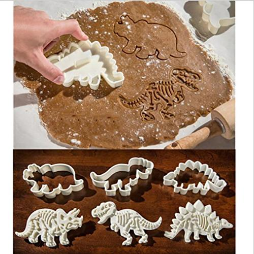 dinosaur shape cookie cutter 3d