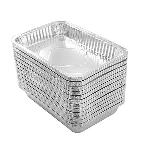 Party Foil Pan | Quality Table Pans for Baking, Homemade Breads - Size X 1.75 of 50